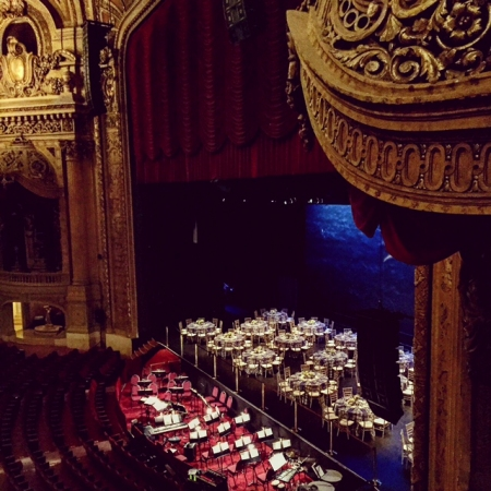 Broadway Theater Event – Dinner on the Stage with the Performers