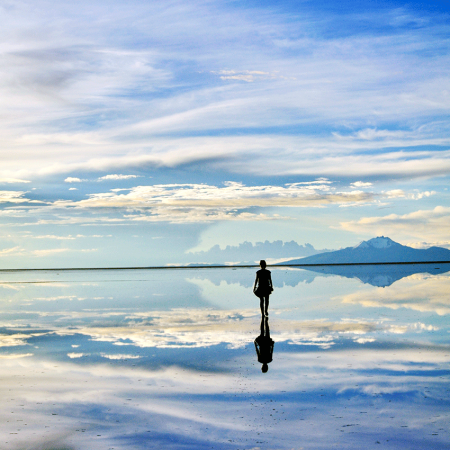 Uyuni Salt Flats – an infinite white desert and a mirror to the sky