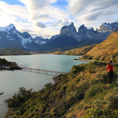 Trekking at Torres del Paine National Park