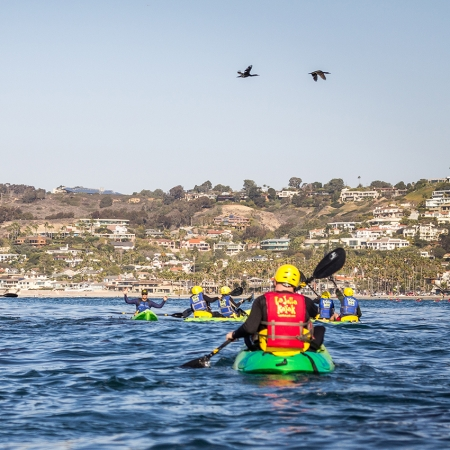Kayaking the harbors or coastline give you a unique view of the destination.