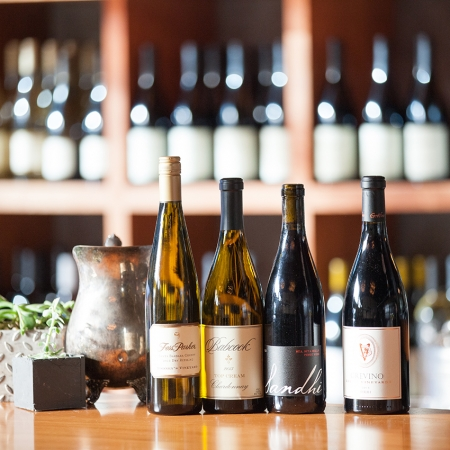 The Urban Wine trail offers all the best of wine country in a hip downtown scene.