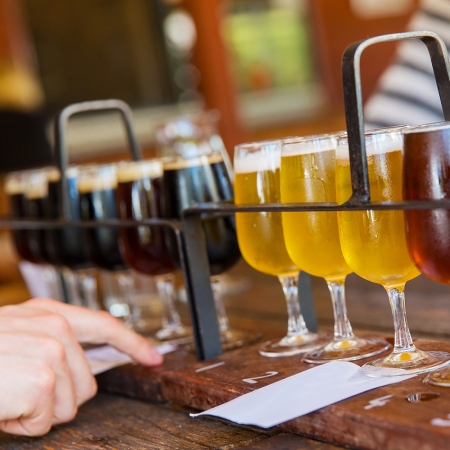 """Travel on the """"Hops Highway"""" and taste the local crafts beers that are creating a sensation across the U.S."""