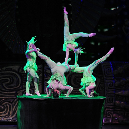 A behind-the-scenes tour of one of China's most famous and revered performing arts acrobatic troupe.