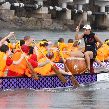 For a true taste of Hong Kong culture, it doesn't get better than a dragon boat race.