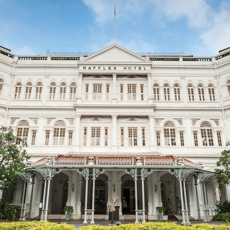 Enjoy an event at the historic Raffles Hotel, a must visit landmark.