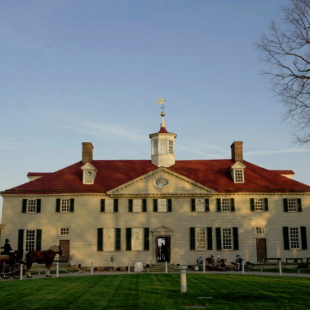 Private dinner and tour of Mount Vernon Estate, the home of George Washington.