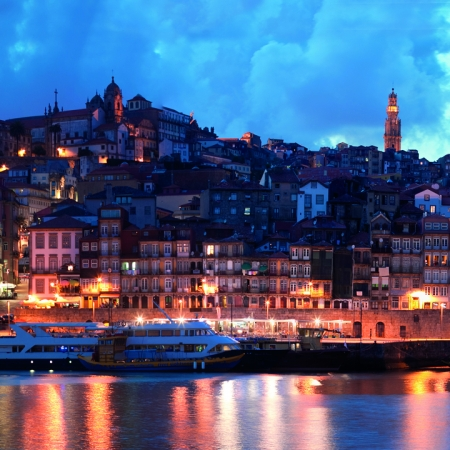 Discover Porto: One cannot leave Porto without visiting a wine cellar and tasting Port from one of the cellars roof tops or ground terraces. Enjoy a unique cruise on a Rabelo boat, taste a ' Francesinha' or the local stewed tripe, explore the city treasures, such as St. Francis baroque Church, Bolhão local Market, a coffee at Majestic Café, or a stroll through Lello Bookstore. Be a local, act like a 'Tripeiro', and enjoy a lifetime memory!