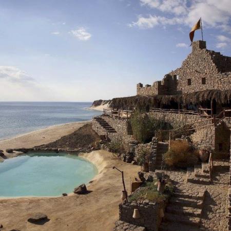 Castle Zaman in Taba