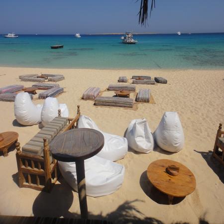 Mahymya Island in Hurghada (Red Sea)