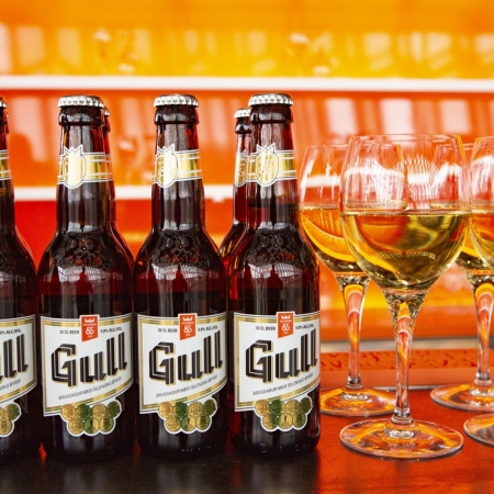 The Icelandic beer, as an island in the Atlantic we don't have big vineyards, but we have innovating breweries with local beer and of course we can offer Mjöður, (mead) the drink of the Vikings.