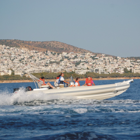 Tired of buses? Why don't you try a zodiac transfer, while visiting areas in Athenian Riviera?