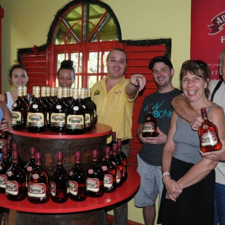 Explore the South Coast with a visit to the Famous Appleton Rum Factory. Learn about the history of the Distillery and be sure to wet your taste buds with the varied types of rums available.