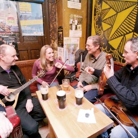 Traditional Irish pubs