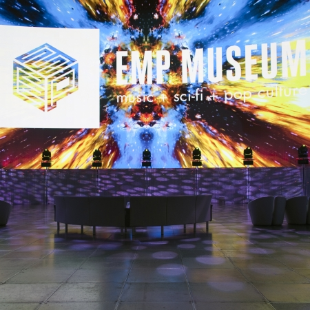 The Experience Music Project (EMP) Museum was created by Frank O. Gehrry with roots in rock 'n' roll.