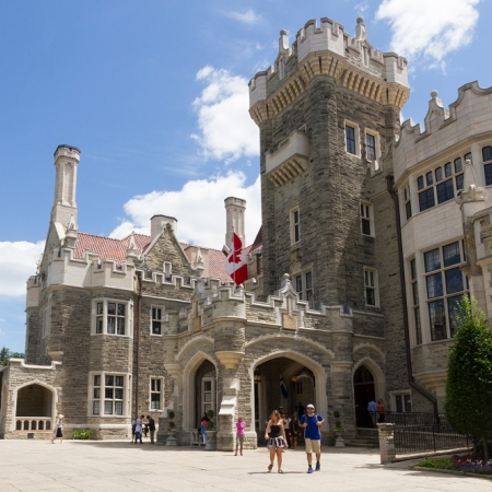Casa Loma, a true castle in the city, an award-winning heritage attraction and event venue