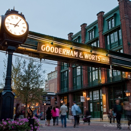 The Distillery District is a pedestrian-only haven of designer boutiques, cafes, restaurants, one-of-a-kind curio shops, galleries and event venues