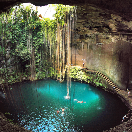 Thrilling Adventure Experiences in the Jungle, Subterranean Rivers and Cenotes