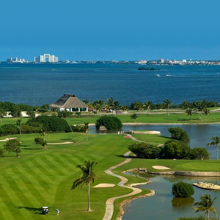 Superb golf courses designed by recognized golf architects