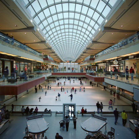 Houston Galleria – The largest shopping mall in the United States (yes, even bigger than Mall of America).