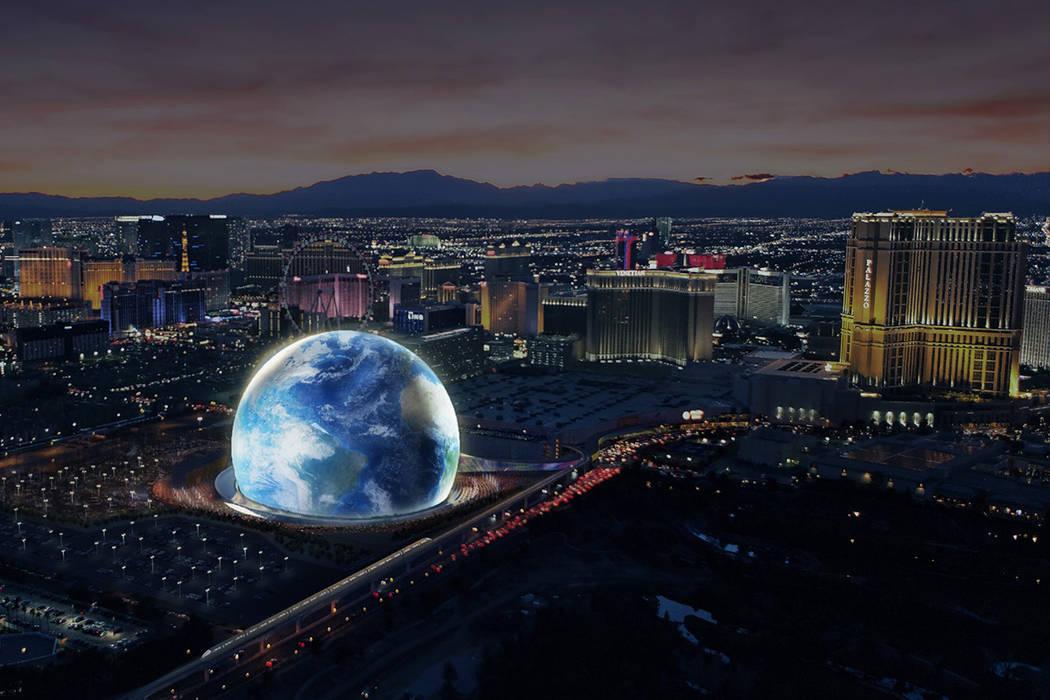 Opening In 2020 In Las Vegas Caesars Forum Amp Msg Sphere