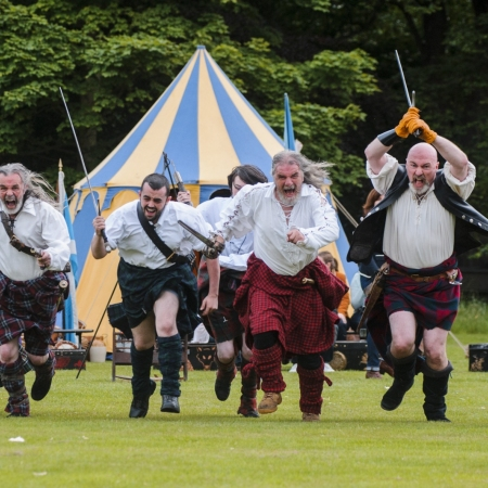 Traditional Highland Games at exclusive Scottish country estates