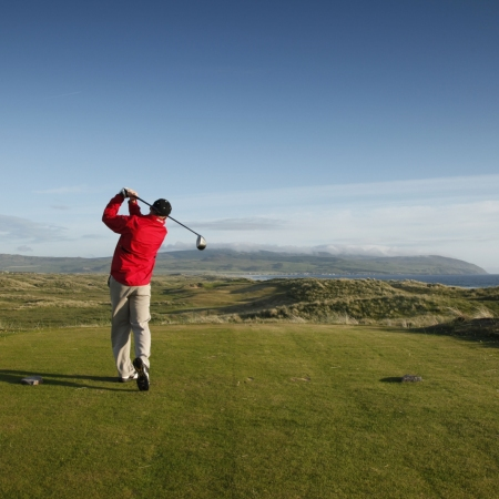 World class golfing experiences with over 550 golf courses to choose from