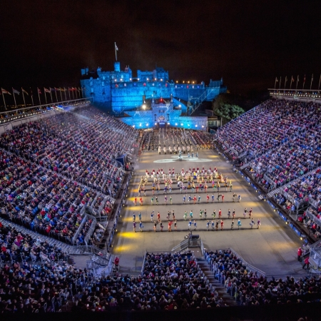 World famous cultural events: Edinburgh Fringe and the Royal Edinburgh Military Tattoo