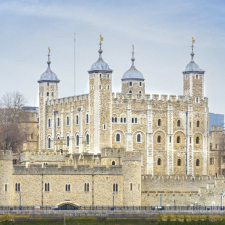 Visit the Tower of London or Westminster Abbey - iconic landmarks of London built over 900 years ago