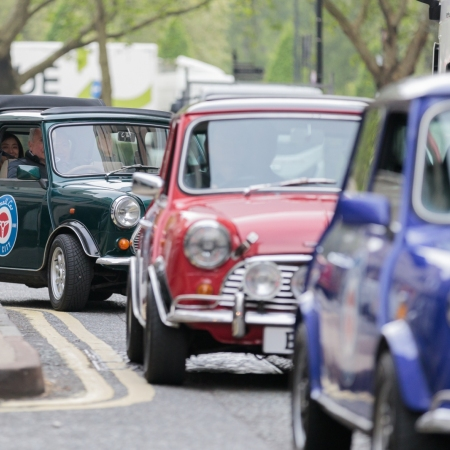 Ride through the streets of London in a British Icon - The Mini Cooper