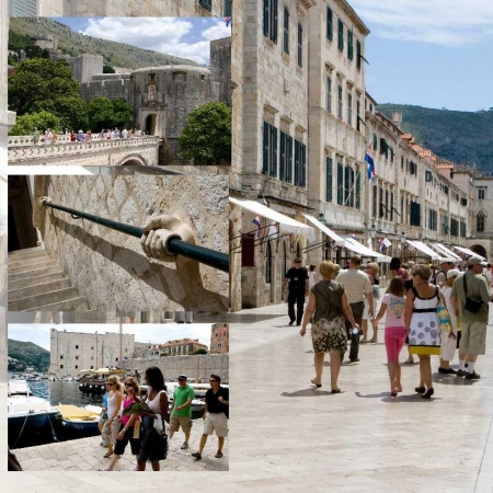 """Walk the car-free """"Walled City"""" of Dubrovnik"""
