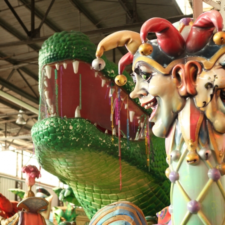Learn the past, present, and future of Carnival on our city-wide Mardi Gras Tour.