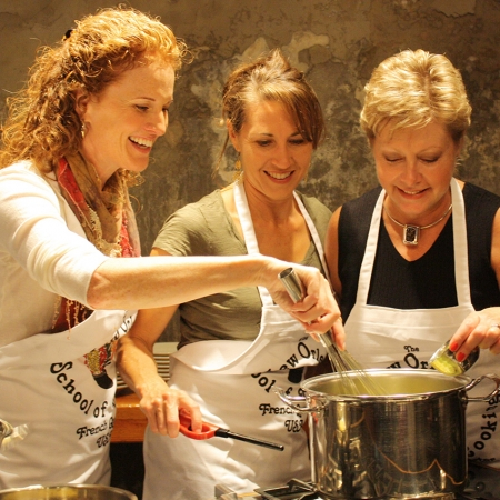 Experience the tradition of Louisiana cooking with a class, demonstration, or Gumbo cookoff.