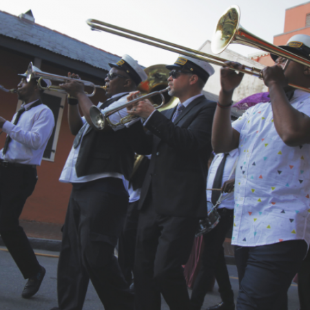 New Orleans culture is richer than their coffee