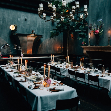 A private dinner in the Mayor Manor in Amsterdam