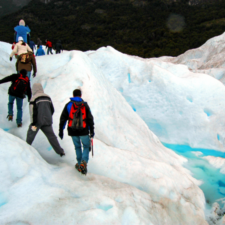 Mini-trekking over the Perito Moreno Glacier in Calafate