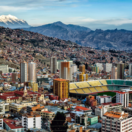 La Paz, named one of the new seven wonder cities of the world, is a mix of culture and modernity.