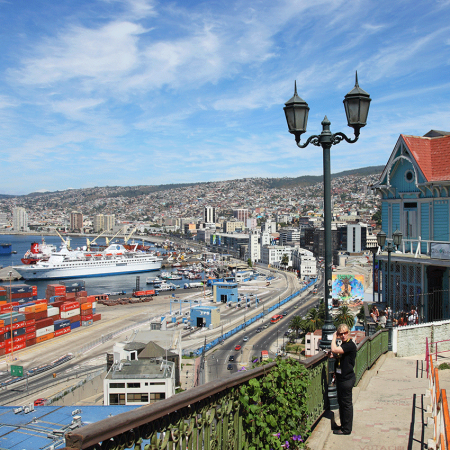 Valparaíso – a UNESCO world heritage site