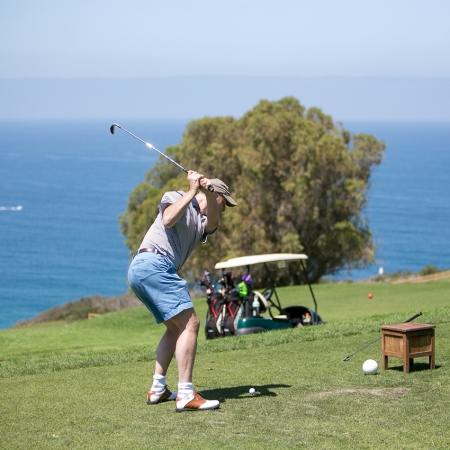 Golfing is a destination staple, no matter where in the OC you are.
