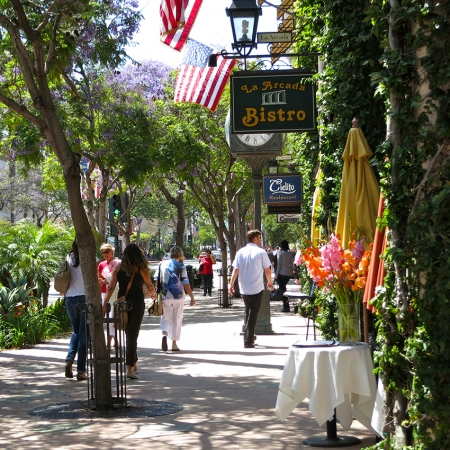 Shopping on State Street offers something for everyone and great people watching.