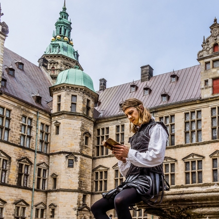 Enjoy exclusive visits and events at Kronborg castle – you are invited to meet Prince Hamlet!