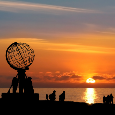 Midnight sun: This natural phenomenon- 24 hours of visible sun- occurs during the summer in northern Norway, which sits above the Arctic Circle. Not only is the midnight sun an incredible sight, it leaves more hours in the day for fishing, boating, climbing and exploring.