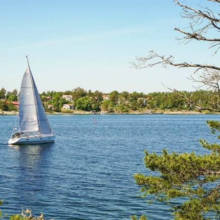 Sail through Stockholm archipelago and enjoy the silence of the surrounding nature far away from the hustle and bustle of the city.