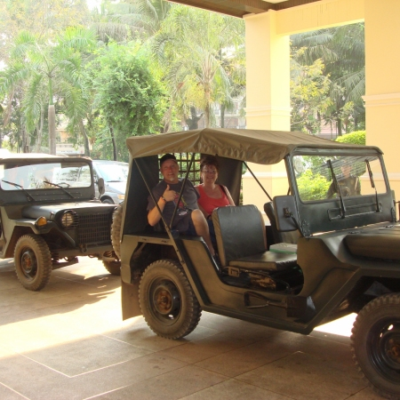 Travel by Jeep, ox cart, and mountain bike during an in-depth Cambodian countryside experience, far away from the hustle of Siem Reap.