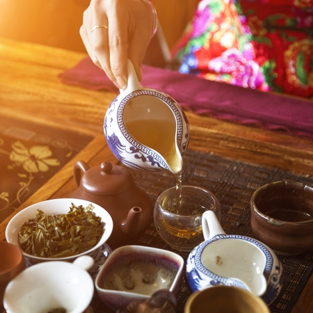 Listen to our tea expert, you might believe you are sipping the distillation of thousands of years of Chinese culture.