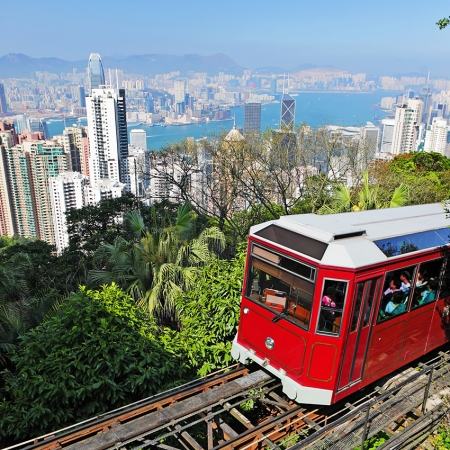 Just a short ride away from sights such as The Peak or Victoria Harbor are tranquil, unspoiled beaches and jungle clad mountains.