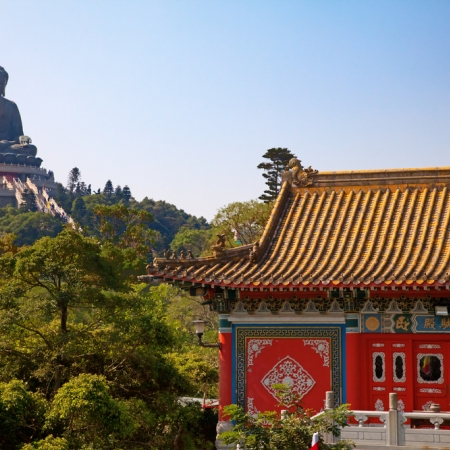 Explore Hong Kong's largest island of Lantau; home to some of the region's best and remotest beaches, wilderness trails, monasteries, and monuments.