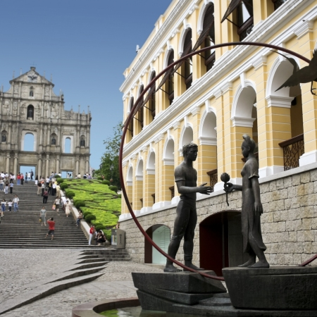 Discover the neighboring enclave of Macau and its European history and cultural flair.