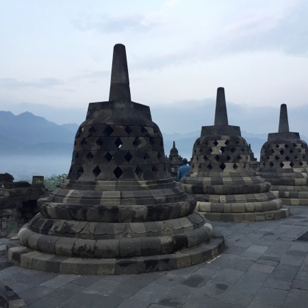 Head up to the UNESCO World Heritage Site of Borobudur temple before dawn and witness one of the most spectacular sunrises in the world.