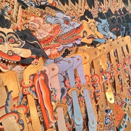 Enjoy a performance of Wayang Kulit by Dalang 'puppeteers' at the Jakarta History Museum in Fatahillah Square.