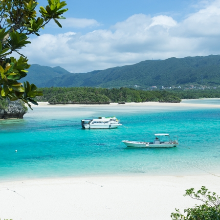 Okinawa is Japan's southernmost chain of islands and has a unique culture with pristine beaches.